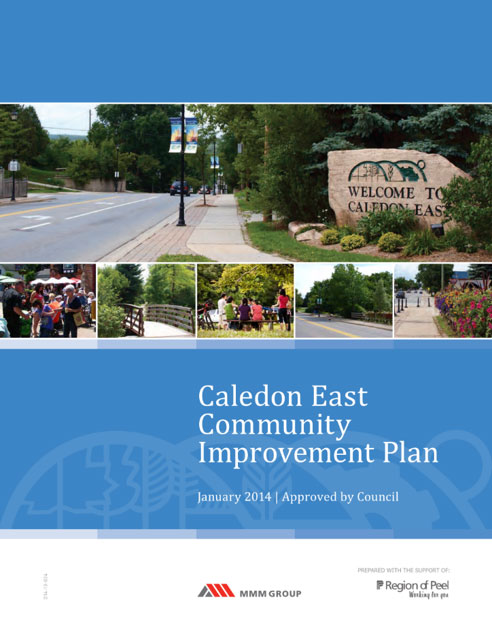 Caledon East Community Improvement Plan: an Innovative Tool to Promote Healthy Lifestyles