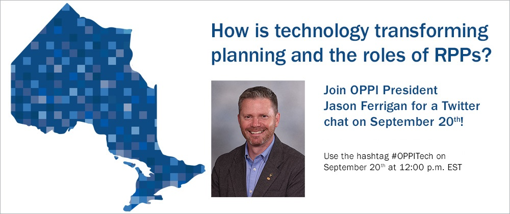 How is technology transforming planning and the roles of RPPs?