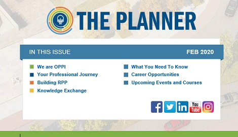 February 2020 Issue of The Planner newsletter