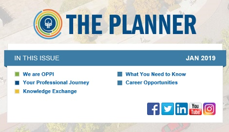 January 2020 Issue of The Planner newsletter